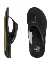 Tongs Reef Flex -Black/Silver