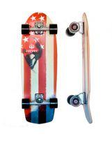 Skate Carver Amber Flag 30.5'' C7