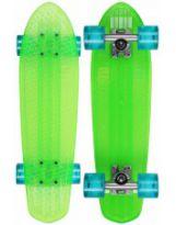 Skate Globe Bantam Classic Clears - lime/raw/light blue - 24''